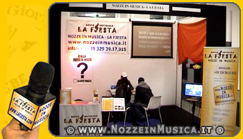 Postazione marketing fiera sposi Bologna